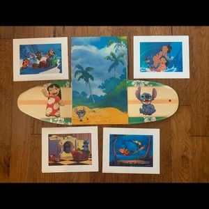 LILO and Stitch lithographs